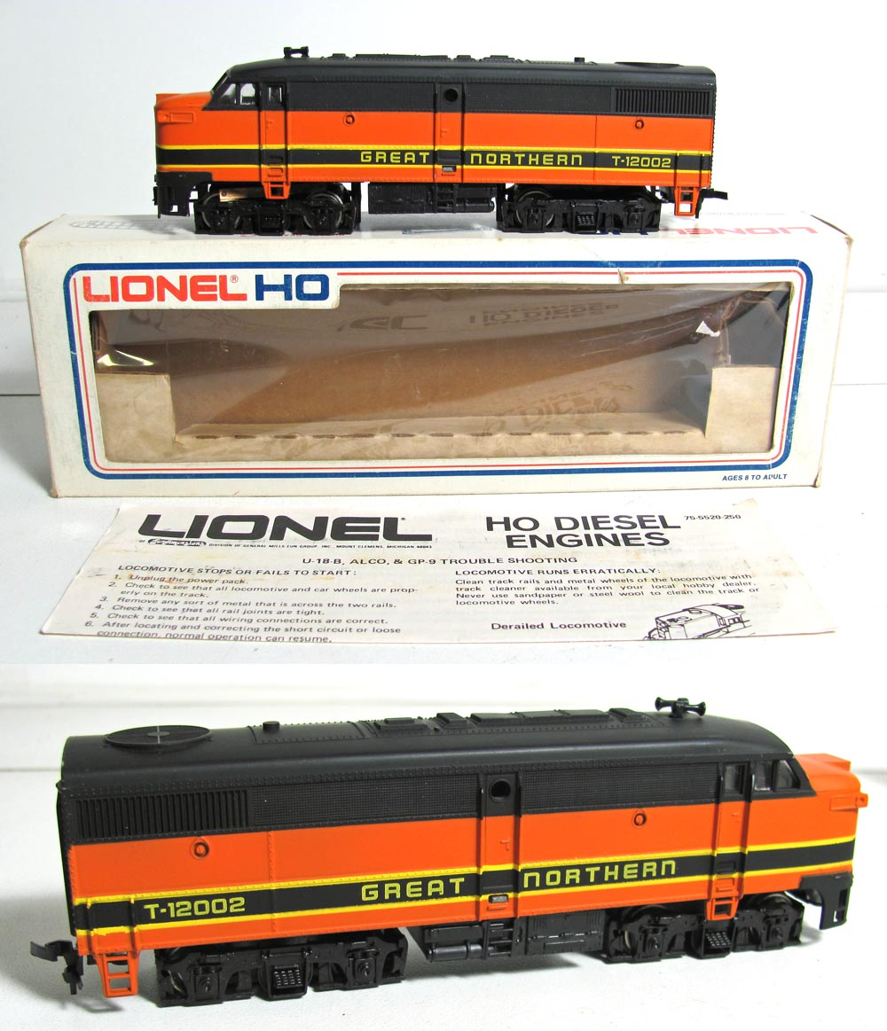Ho Gauge 5 5614 Great Northern Loco Wiring Track Car