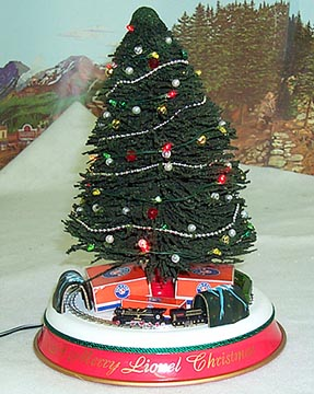 Lionel Musical Christmas Tree With 400e Train