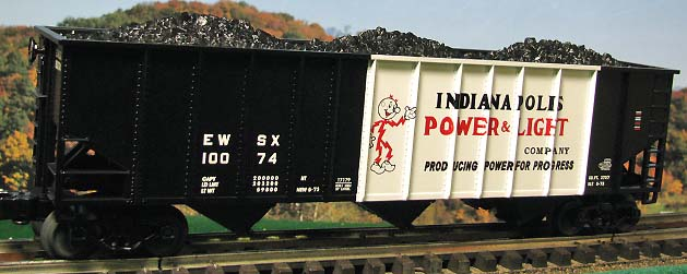 Lionel 17179 Indianapolis Power And Light Coal Hopper
