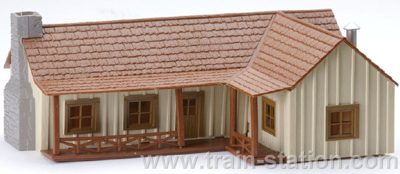 Lionel 21388 COUNTRY L SHAPED RANCH HOUSE BUILDING