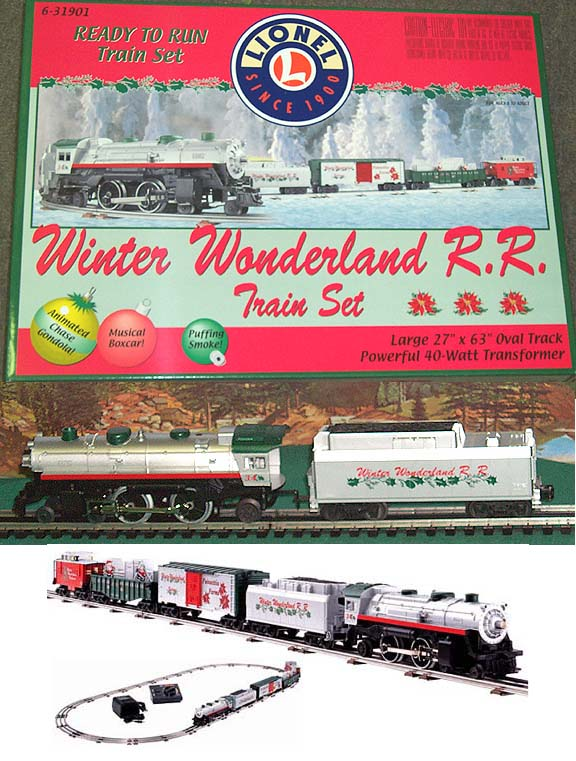 Christmas Train Cast.Lionel 31901 Lionel Christmas Set Plays 12 Christmas Carols