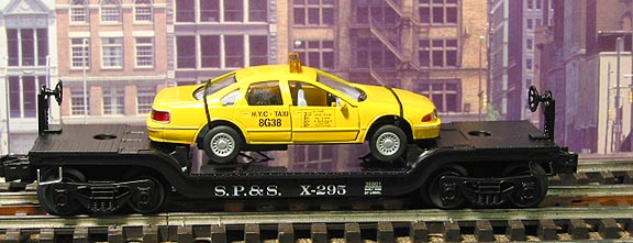 Lionel 36801 Flatcar With New York City Taxi