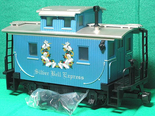 Lionel 8 81024 3 Silver Bell Express Lg Scale Xmas